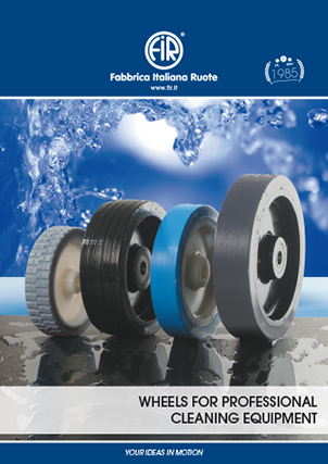 Application  Wheels for professional cleaning equipment