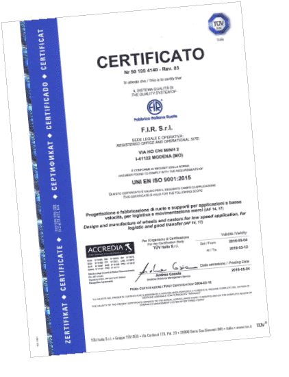 F.I.R certificati