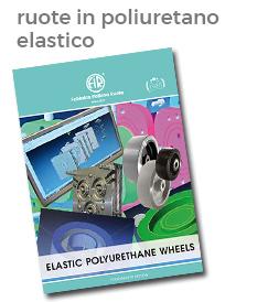 ruote in poliuretano elastico