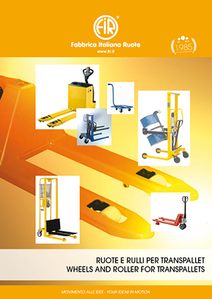 Application  Wheels and Roller for Transpallets