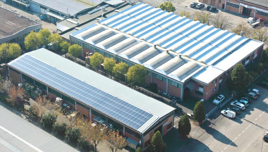 F.I.R factory in Modena